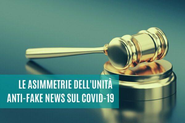 unità anti fake news covid 19