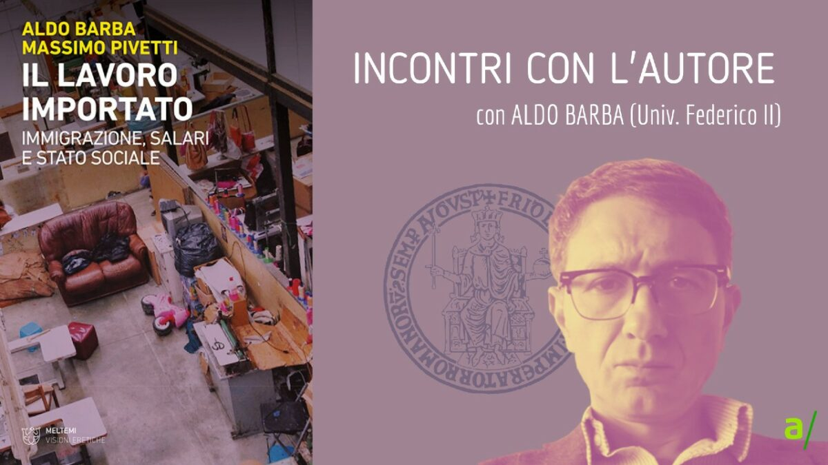 Il lavoro importato - Aldo Barba